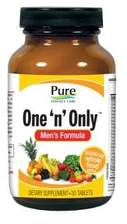 One tablet per day supporting mens health and well being..