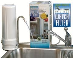 Water - At It's Very Best. Powerful Filter at the Lowest Cost per Gallon.  Enjoy Cleaner, Crystal Clear Drinking Water from Tap Water..