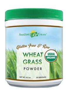 Amazing Grass Organic Wheat Grass powder is a potent, convenient, and affordable way to help achieve your 5 + daily servings of vegetables..
