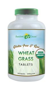 Amazing Grass Organic Wheat Grass tablets are a potent, convenient and affordable way to help achieve your 5 + daily servings of vegetables..
