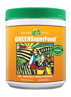 Premium Blend of SuperFoods Provides Amazing Energy and Amazing Health! A delicious drink powder to help you achieve your recommended 5 to 9 daily servings of fruits and vegetables. Naturally detoxifies and boosts your immune system..