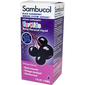 The Original Sambucol for Kids, Black Elderberry Immune Formula in a great tasting syrup, especially for kids..