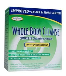 Enzymatic Therapy Whole Body Cleanse Improved Complete 10-day Cleansing System include Probiotics. Works Faster and More Gently..