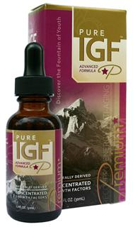 Pure IGF Premium is a high potency extract of naturally occurring Growth Factors in New Zealand Deer Antler Velvet..