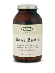 Bone Basics contains nutrients and botanicals to address skeletal health at all stages of life..