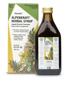 Alpenkraft Herbal Syrup supports normal mucous secretions and thus helps support the respiratory organs.