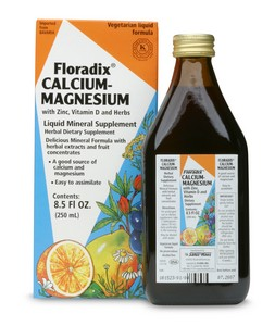 Floradix Calcium-Magnesium liquid meets the challenges of calcium utilization and absorption.