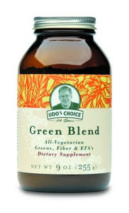 Get Greens - Get Energized & Detoxified.  Udo's Choice Green Blend makes it easy and convenient for anyone to achieve a well balanced diet..