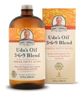 A Certified Organic Blend of Flax and Other Nutritionally Superior Oils.