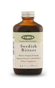 Maria's Formula of Swedish Bitters represents the essence of skill, knowledge and experience in producing the finest herbal bitters available..