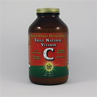 Truly Natural Vitamin C has all of the naturally occurring elements synergistically present and bonded, including naturally occurring bioflavonoids, because it is 100% Acerola Cherry Powder..