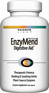 Enzymend Digestive Aid   Maximum, vegetarian support for superior short-term relief plus long-term digestive aid.