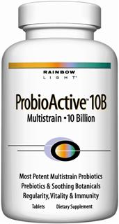 ProbioActive 10B Multistrain  10 Billion Highest-potency, multistrain probiotic defense for gut health, normal digestion and movement, strengthened immune function and daily wellness - NO refrigeration needed.