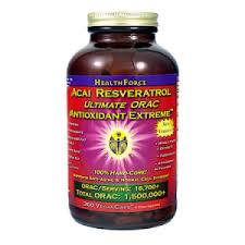 Acai Resveratrol Antioxidant Extreme - containing the most potent and comprehensive array of free radical scavenging botanicals ever assembled.
