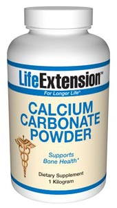 Calcium Carbonate Powder is an inexpensive supplement, which is an effective source of calcium for many people, but not for those with inadequate stomach acid or other absorption problems..