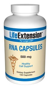 RNA (ribonucleic acid) is an antioxidant derived from yeast.