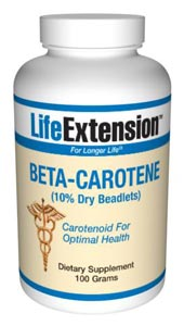 Beta-Carotene (10% Dry Beadlets)-  Beta-carotene is the most potent precursor to vitamin A, but its conversion to vitamin A in the body is limited by a feedback system, and is referred to as provitamin A.