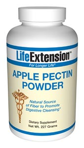 Apple Pectin Powder is a natural health supplement providing fiber to help control cholesterol and glucose levels..