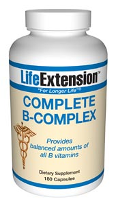 Complete B-Complex- The many B vitamins are used in the body individually or in combination with enzymes to help release energy from carbohydrates, fat, and protein. Vitamin B coenzymes are crucial to the metabolic pathways.