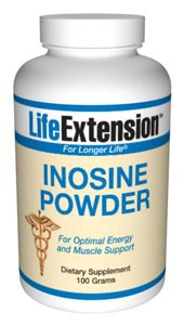 Inosine Powder belongs to a chemical family known as purine nucleotides. Early research indicated inosine may be beneficial to the health and energy of the heart..