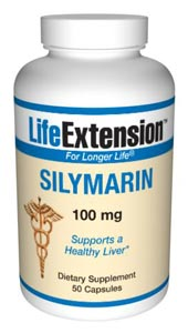 LifeExtension-Silymarin 100 mg-  The liver is a large glandular organ, whose functions include storage and filtration of blood, secretion of bile, detoxification of various substances and conversion of sugars into glycogen, which it stores..