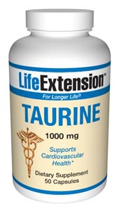Taurine can promote optimal blood flow to nerves. It also appears to play an important role in many physiological processes, such as osmoregulation, immunomodulation and bile salt formation..