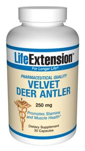 Velvet Deer Antler has been used in oriental medicine for centuries to increase sexual desire and improve sexual performance.* Body builders have used Velvet Deer Antler to boost stamina and endurance..