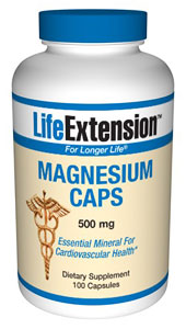 Nutritional Supplements, Antiaging, Health and Nutrition- LifeExtension- Magnesium is one of the most important minerals. It is required as a co-factor in hundreds of enzymatic processes within cells and helps maintain normal muscle and nerve function..