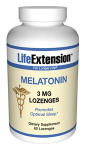 Secretion of melatonin declines significantly with age.