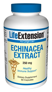 Echinacea Extract 250 mg- Echinacea is a wide-spectrum immu-nomodulator that modulates both innate and adaptive immune responses, helping ward off infectious agents and elicit free radicals..