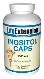 Inositol Caps 1000 mg-  Inositol is a key intermediate of secondary messengers and a primary component of cellular membrane phospholipids which is involved in a number of biological processes..