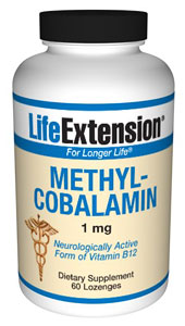 Methylcobalamin 1 mg- Vitamin B12 is present in foods of animal origin, including dairy products and eggs. Thus, vegetarians are more susceptible to a dietary deficiency of this important nutrient..