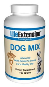 Life Extension Dog Mix-  Animals have unique physiological structures, and therefore they need specific food and nutrients to remain in optimal health. No longer considered just animals, household pets are family members who require special attention..