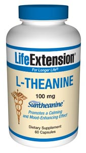 Just as meditation, massage or aromatherapy quiets the mind and body, L-Theanine plays a role in inducing the same calm and feeling of well-being without drowsiness. It is a non-toxic, highly desirable mood modulator..
