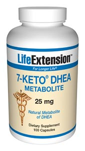Clinical studies have indicated that 7-Keto DHEA increases the resting metabolic rate of overweight adults..