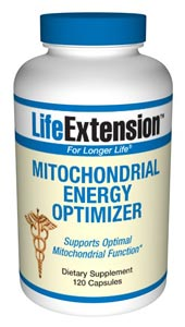 Mitochondrial Energy Optimizer- All the cells in our bodies contain tiny organelles called mitochondria ; the cells energy power-houses  that function to produce cellular energy by means of the ATP cycle..