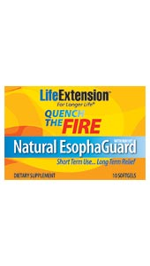 Natural EsophaGuard is a novel, all-natural solution for gastric distress. Its active ingredient, a standardized extract from orange peel known as d-limonene, has been shown to provide fast-acting, long-lasting relief from gastric distress..