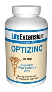 LifeExtension- OptiZinc&#174 Promoting immune function and more. Zinc is a mineral that stimulates the activity of approximately 100 enzymes, which are substances that promote biochemical reactions in your body..