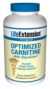 Optimized Carnitine with GlycoCarn combines three advanced forms of carnitine in one single formula to help you optimize energy output..