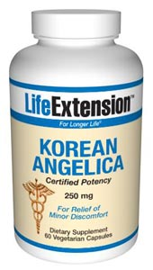 Korean Angelica (Certified Potency) 250 mg-As people age, systemic inflammation can inflict degenerative effects throughout the body..