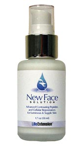 New Face Solution - Have you noticed that celebrities who take care of themselves appear to age more slowly than their chronological years indicate? Aggressive intervention enables the facial tissues of maturing people to maintain a young and fresh appearance..