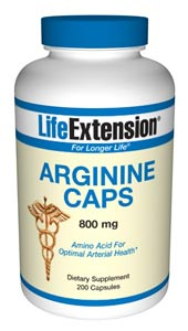 Arginine Caps are an amino acid supplement supporting Natural Health, Muscle Growth, Recovery, Stamina and Longevity..