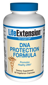 DNA Protection Formula - Medical science has documented the ability of certain nutrients to exert powerful effects that can significantly bolster the body's natural defenses against chemical assault..