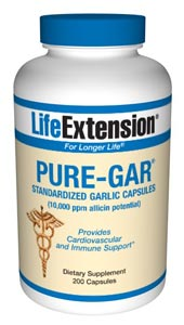 Optimized Garlic (200 vegetarian capsules).