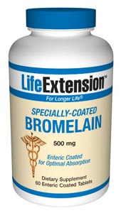 Specially-Coated Bromelain - A specially coated bromelain formulation has been well-studied for its ability to help reduce the expression of inflammatory factors..