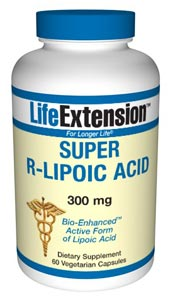 LifeExtension- Super R-Lipoic Acid helps protect against oxidative stress generated by high glucose levels. Alpha-lipoic acid consists of two different forms (isomers) that have vastly different properties. .