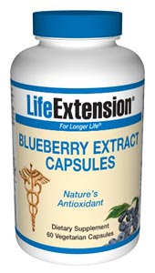 Blueberry Extract (60 vegetarian capsules)*.