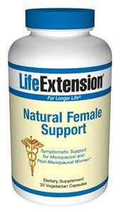 Natural Female Support, For many years, women had limited options for relieving menopausal symptoms. Those who advocated safer approaches were vindicated when clinical studies confirmed that synthetic estrogen-progestin drugs increase risk of breast cancer..