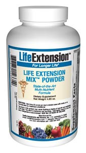 LifeExtension- Nutritional Supplements, Antiaging, Health and Nutrition- Life Extension Mix Powder -You hear it almost every day. Be it government health agencies or private organizations, the unanimous directive is for Americans to eat more fruits and vegetables to maintain a healthy lifestyle..