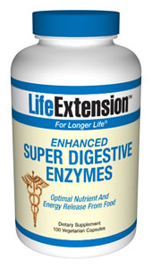 Enzymes are essential to the bodys absorption and full use of food. The primary digestive enzymes are protease (to digest protein), amylase (to digest carbohydrate), and lipase (to digest fat). These enzymes function as a biological catalyst to help break down food..